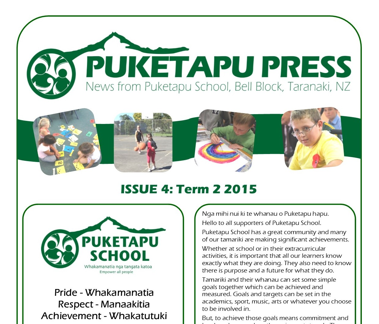 Puketapu Press – Issue 4