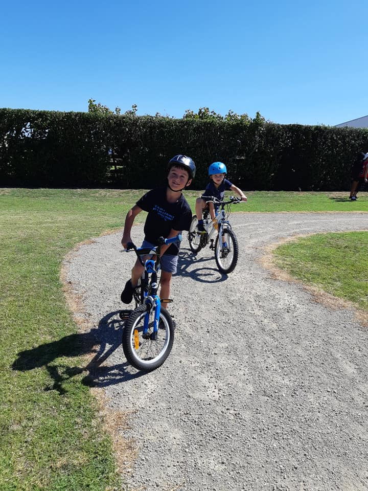 A New Bike Track